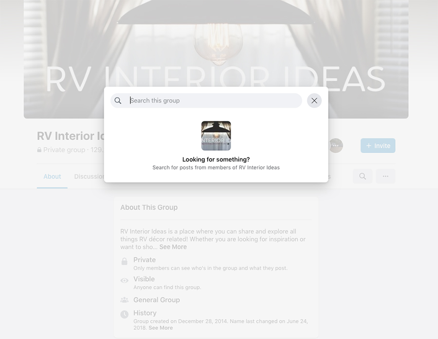 Best RV Renovation Facebook Groups