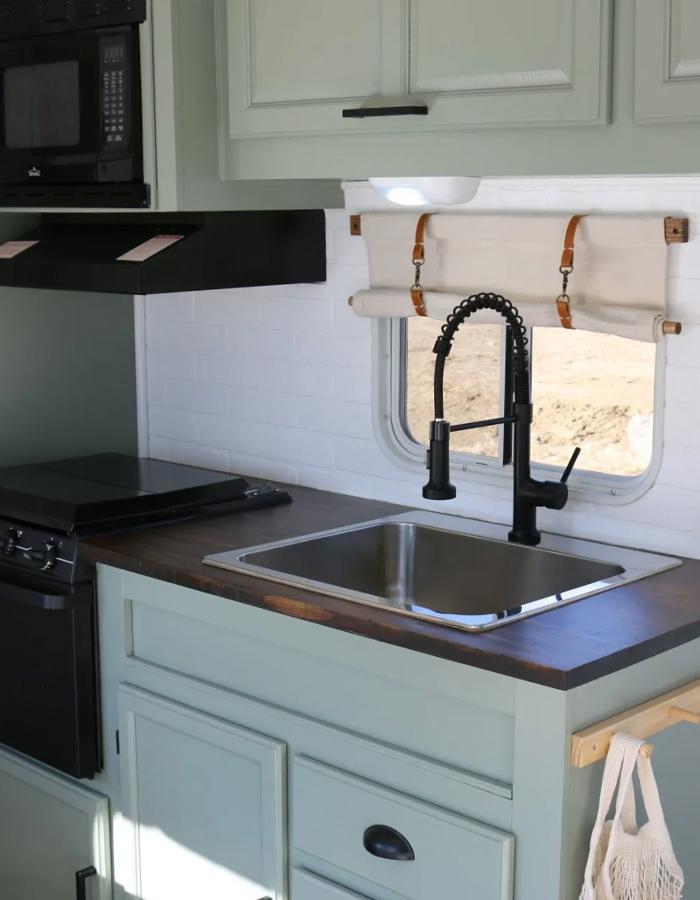 camper kitchen renovation