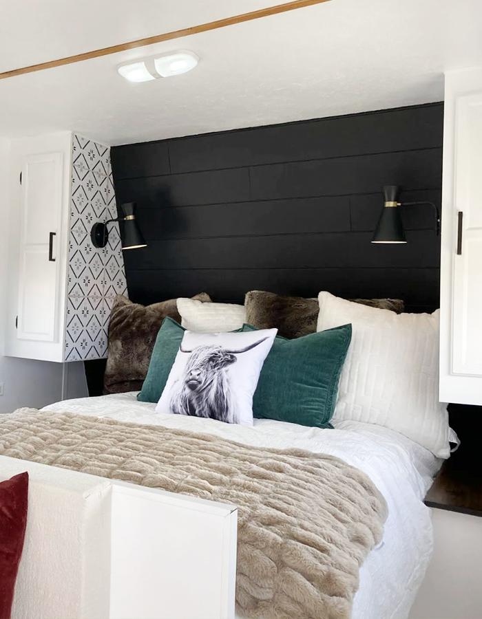 camper bedroom remodel
