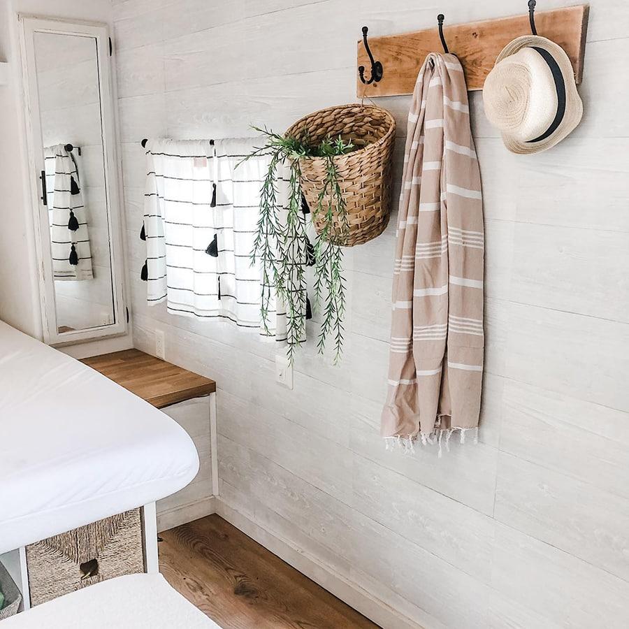 Farmhouse-inspired RV renovation