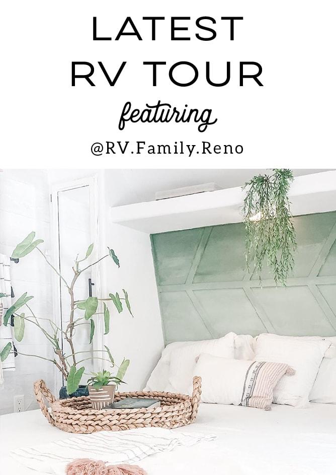 modern farmhouse RV