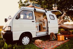 renovated camper van