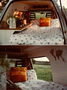 vintage inspired van conversion