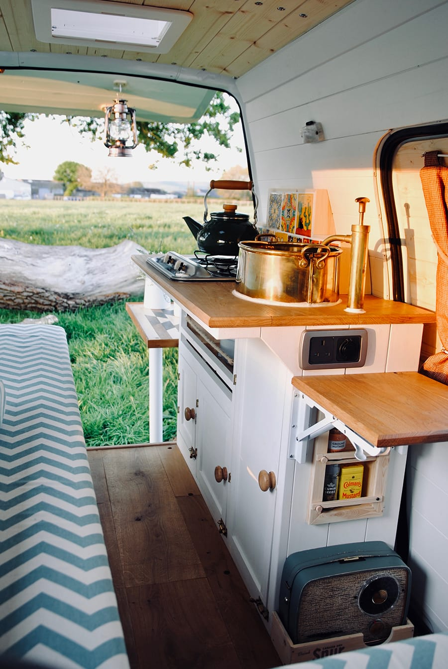 cozy micro camper van