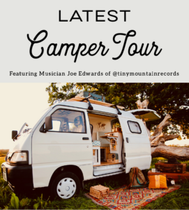 latest camper tour