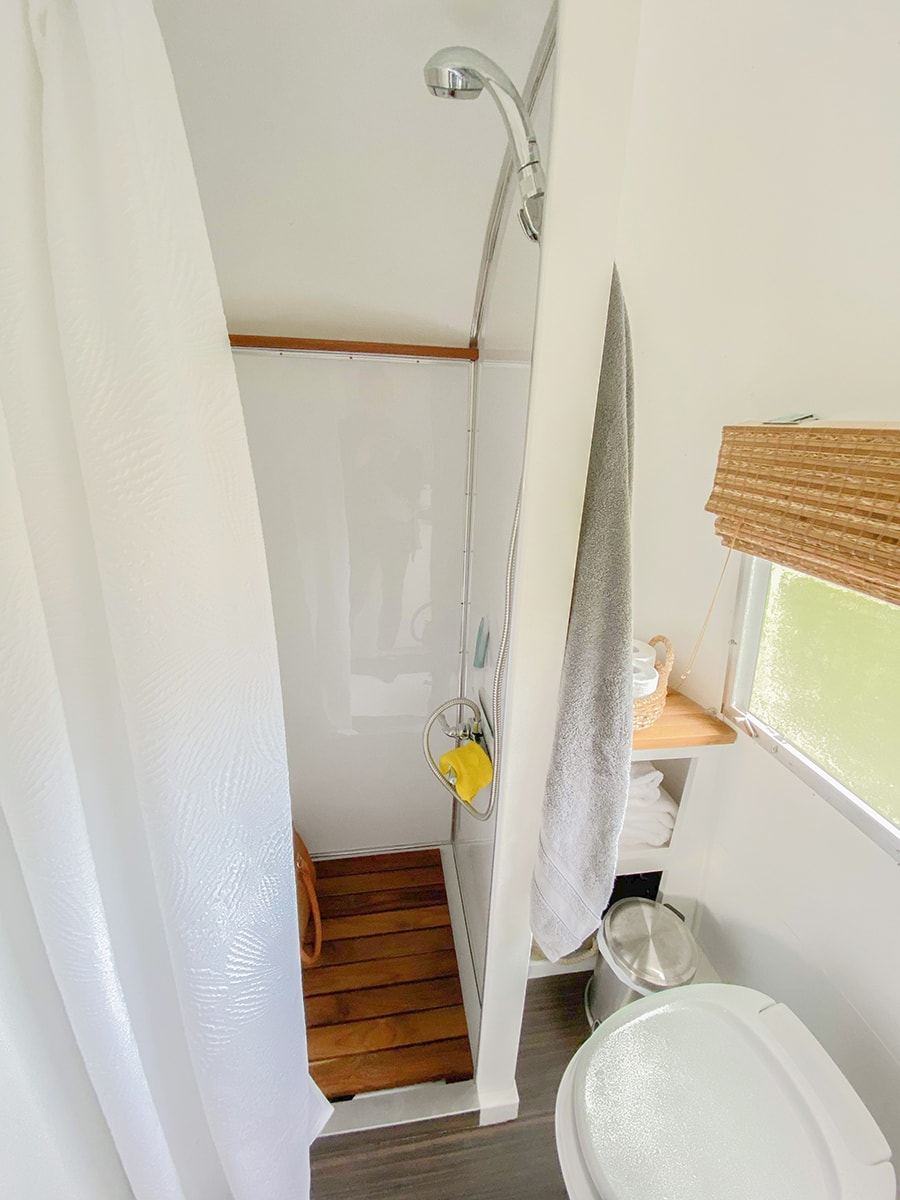 Modern Airstream Bathroom Renovation