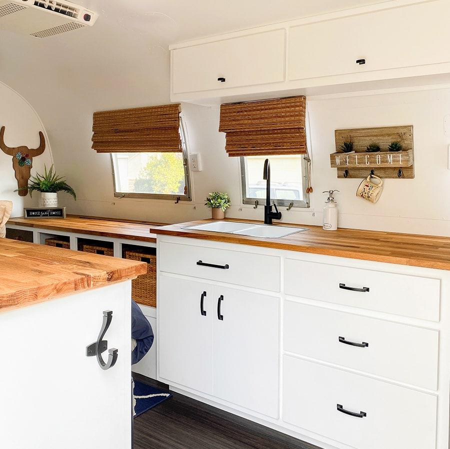 Modern Airstream Kitchen Renovation