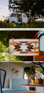 micro camper van renovation details