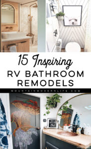 renovated RV bathroom inspiration