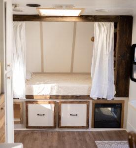 vintage inspired camper renovation