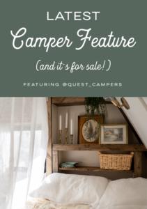 rustic vintage camper for sale