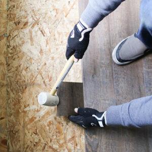 installing vinyl plank flooring in RV