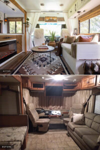 RV before after renovation