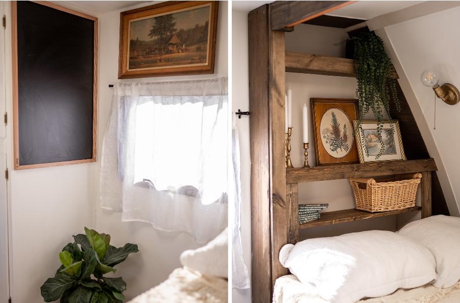 vintage country camper
