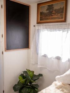 vintage inspired camper interior