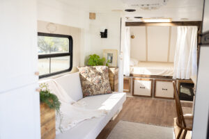 quaint and cozy camper remodel