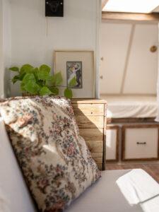 vintage-inspired camper reno