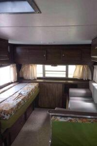 vintage camper before remodel