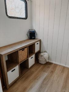travel trailer interior