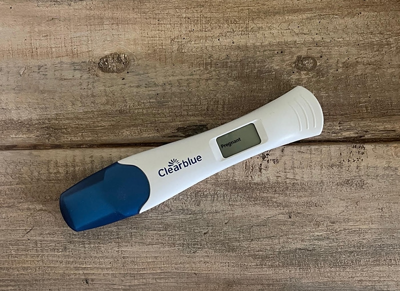 positive pregnancy test before miscarriage