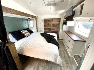 RV bedroom renovation