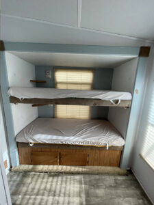 RV bunk before