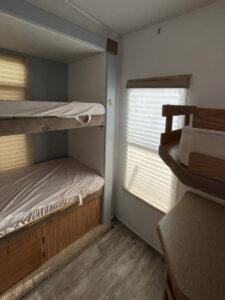 RV bunkbeds before