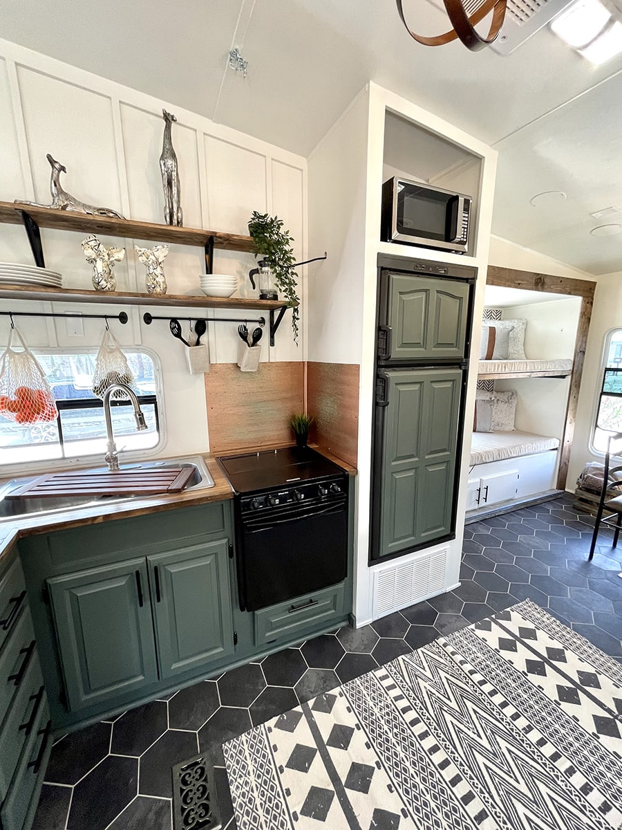 Modern RV Kitchen renovation