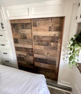 Rustic Closet Doors