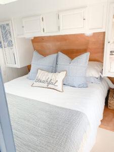 coastal RV bedroom