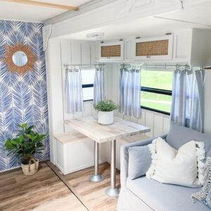 coastal RV interior