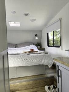 RV bedroom remodel