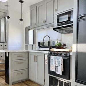 modern 5th wheel kitchen