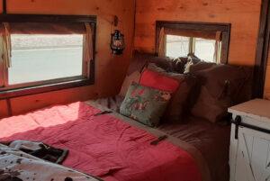 tiny western bedroom