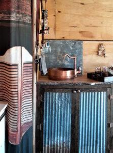 tiny rustic camper