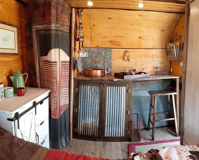 western camper interior