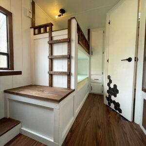 travel trailer bunkbed remodel
