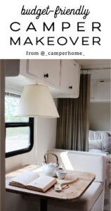 stylish camper remodel