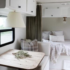 cozy camper interior