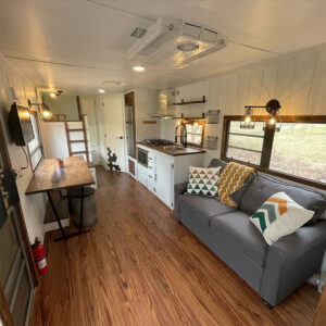 renovated travel trailer