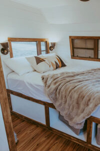 rustic camper remodel