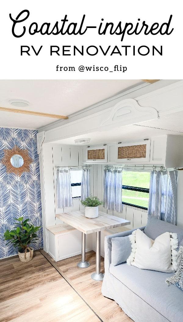 Tour this coastal RV renovation inspired by Charleston, SC
