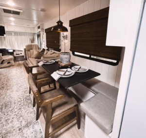 renovated motorhome interior