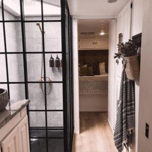 dreamline shower in RV