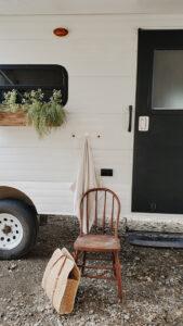painted camper exterior