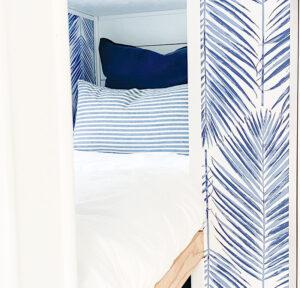 travel trailer bunk remodel