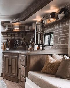 updated motorhome kitchen